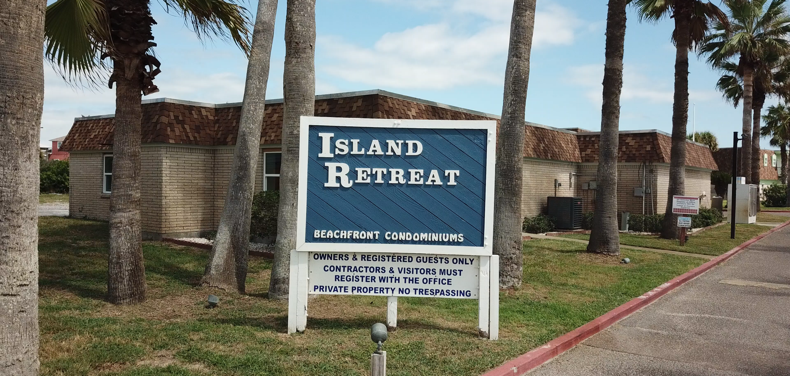 Entrance to Island Retreat